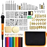 Best Wood Burning Tools - Wood Burning Kit, PETUOL 110PCS Wood Burning Tool Review