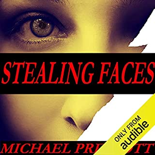 Stealing Faces audiobook cover art