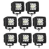 LED Cubes, Turboo 8PCS 39W CREE 3 Inch LED...