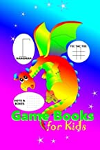 Dowload Game Books for Kids: Dots and Boxes, Hangman, Tic Tac Toe and Doodling 1975848446/ PDF