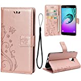 Teebo Case for Galaxy A8 Plus 2018/A730{Not for A8}, PU Leather...
