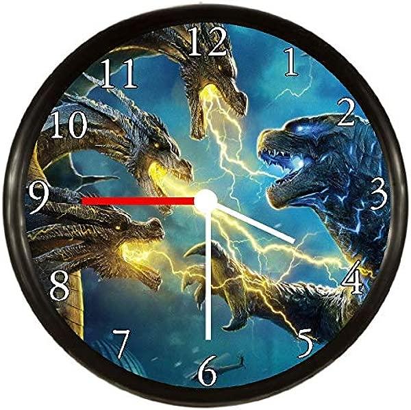 Quartz Godzilla Wall Clock
