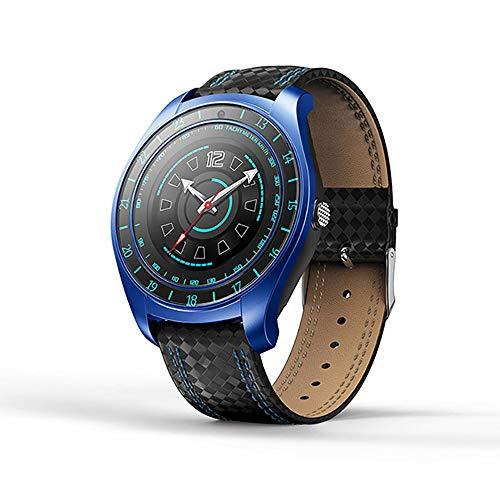 Fitness tracker, fitness tracker, horloge met hartslagmonitor, slim touchscreen en armbanden, draagbaar, waterdicht, activiteitstracker, stappenteller voor Android en iOS
