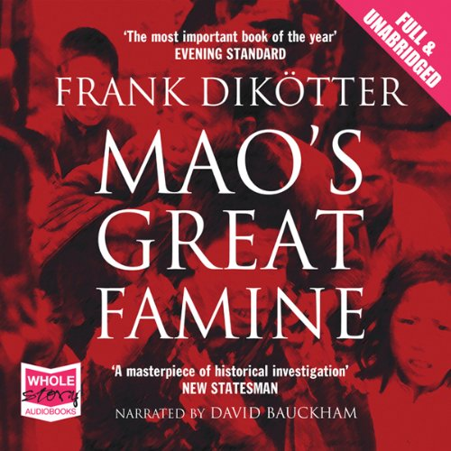 Mao's Great Famine audiobook cover art