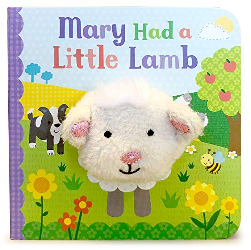 Mary Had a Little Lamb (Finger Puppet Book) (Finger Puppet Board Book)
