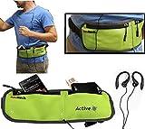 Navitech Green Smartphone Running/Jogging Water Resistant