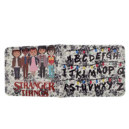 Neuankömmling Anime Stranger Things Wallet Münzgeldbörse Cartoon Wallets