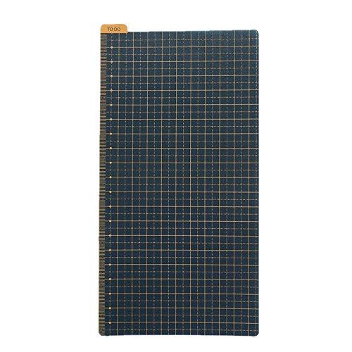 Pencil Board Bookmark Ruler Shitajiki for Traveler's Notebook Regular Size, Sold by Chris.W (4.33 x 8.25 Inch)