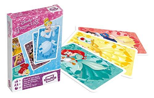 Cartamundi Disney Prinzessinnen-Spielkarten und alte Dienstmädchen, 1 Deck