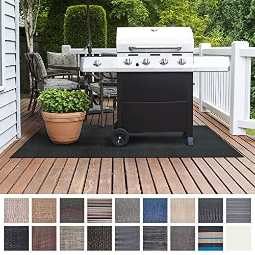 Floordirekt Grillschutzmatte   Schwer entflammbar   2 Größen   5 Designs   Grillmatten zum Grillen im Garten   Outdoor Matten für den Grill (90 x 120 cm, Ferrara)