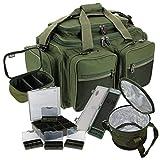 NGT XPR Gepäck-Set für Karpfenangeln, Angeltasche, Angeltasche, Angelbox, Transporttasche