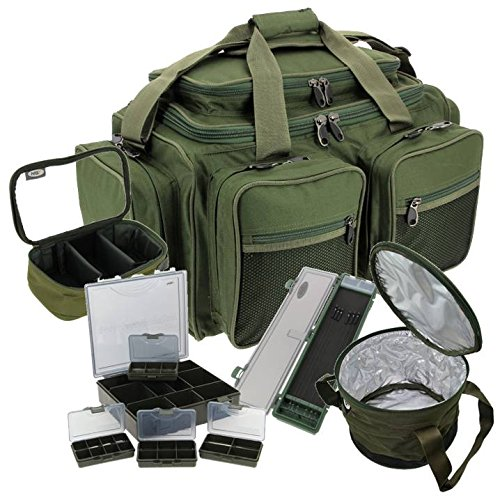 NGT CARP FISHING TACKLE BAG RIG WALLET LEAD BAG TACKLE BOX CARRYALL HOLDALL XPR LUGGAGE SET