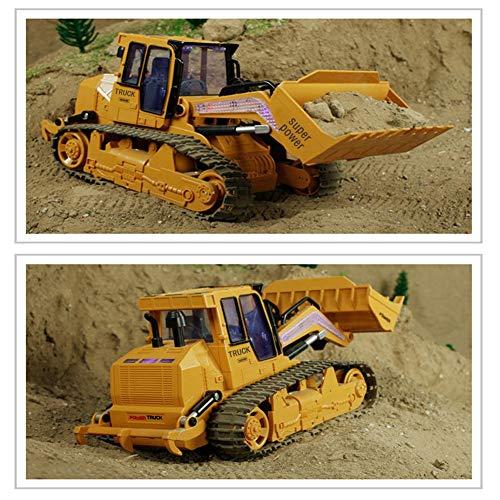 RC Auto kaufen Kettenfahrzeug Bild 6: RC big bagger spielzeug Kinder, Fernsteuerungs Bagger Spielzeug Nachgemachter Großer Bulldozer mit Sound und Licht für Kinder*