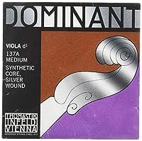DOMINANT ドミナント ヴィオラ弦 D線 シンセティックコア 4/4 シルヴァー巻 137A