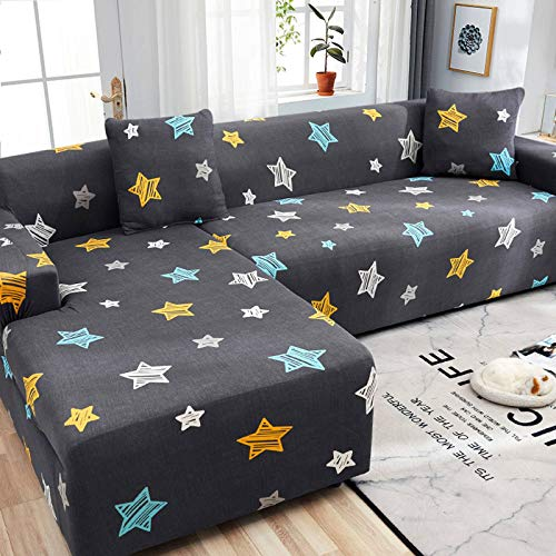 HKPLDE Sofa Slipcover Jacquard Sofa Cover Washable Durable Sofa Cover Stretch Furniture Protector For Armchair In Living Room For Kids-3 seater(190-230cm)-B