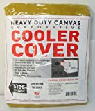 34'W x 34'D x 36'H Side Draft Heavy Duty Canvas Cover for Evaporative Swamp Cooler (34 x 34 x 36)