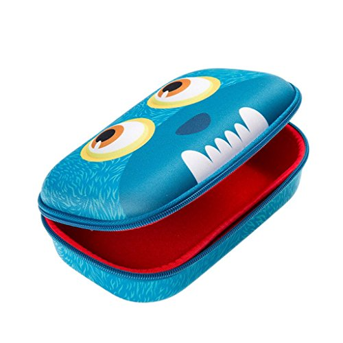 ZIPIT Wildlings Pencil Case/Pencil Box/Storage Box, Blue Photo #7