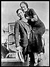 D6752 Bonnie and Clyde Original Photo Parker Barrow Outlaw 32x24 POSTER