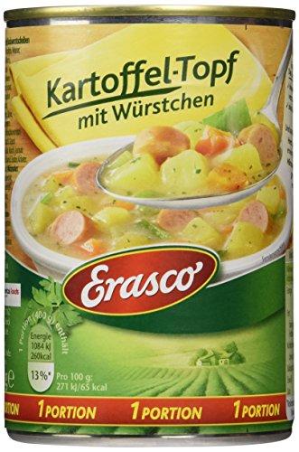 Erasco Kartoffel-Topf mit Würstchen, 3er Pack (3 x 400 g)