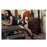 Vscdye Mila Kunis Sexy Schauspielerin Poster und Drucke