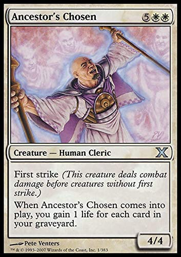 Magic The Gathering - Ancestor's Chosen (1/383) - Tenth Edition by