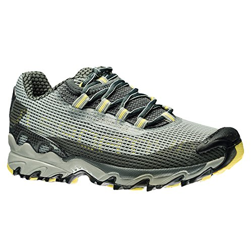 La Sportiva Women's Wildcat Trail Running Shoe, Grey/Butter, 37.5 M EU