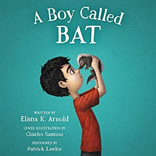 A Boy Called Bat audiobook cover art