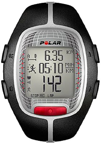 Polar RS300X Heart Rate Monitor, Black