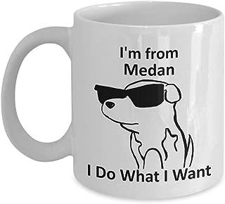 errterfte Medan Pride Coffee Mug 11oz White Gift Cup Tea Cup Ceramic Mug Coffee Mug Best Gift