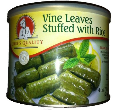Gourmet Vine Leaves Stuffed with 4 Max 75% OFF oz 70 Super popular specialty store lbs Rice