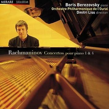 Rachmaninov: Concertos pour piano Nos. 1 & 4
