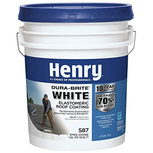 HENRY HE587372 Roof Coating, 5 Gal