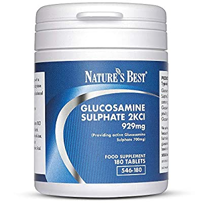 Pure Glucosamine Sulphate 2KCl 929mg- Fantastic Value for UK-Made Tablets -360 Tablets