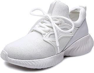 ZLYZS Zapatos Mujer Aptitud De Los Deportes, La Moda Informal Volando Tejidas Calzado Calzado Deportivo Marea Muelle Elást...