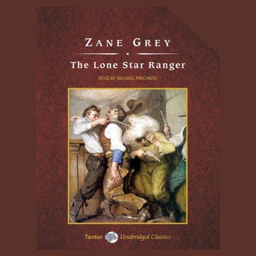 The Lone Star Ranger audiobook cover art