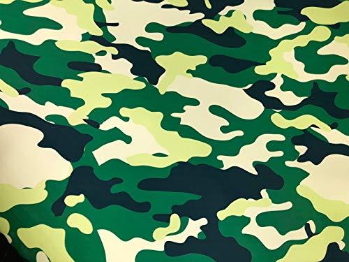 LEON-FOLIEN Camouflage Folie 150x50 Military Militär Hellgrün Braun Kahki Schwarz Weiß Tarnfolie Stickerbomb Autofolie Sticker Auto Car Bike Motorrad (26,00 EUR pro m²)