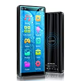MYMAHDI MP3 Player with Bluetooth 5.0, High Resolution and Full Touch Screen, Built-in