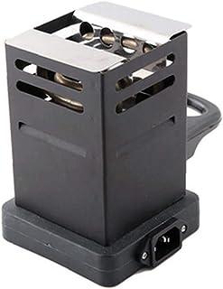 Mini-place Potable Charbon Four Réchaud Du Charbon Brûleur Pipes Accessoires Avec L'ue Noir Plug