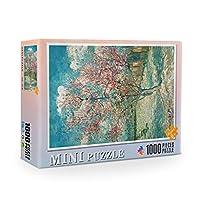 MIOAHD ジグソーパズル大人のための絵のパズルを組み立てる1000個教育玩具パズルパレアダルト
