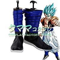 ゴジータ ドラゴンボール DB DRAGON BALL コスプレ 靴 ブーツ コスプレ靴 cosplay オーダーサイズ/スタイル 製作可能 【タママ】(23cm)