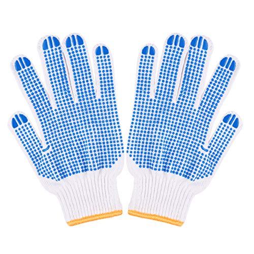 POPETPOP- 1-Paar Tiere Umgang Handschuhe Anti-Biss praktische Bequeme Protektoren Handschuhe liefert für Haustier Hamster Anti-Biss (zufällige Farbe)