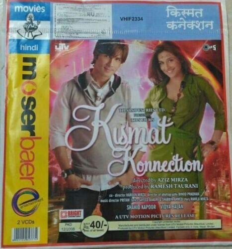 Great Deal! kismat konnection (2008 Film) ~ Bollywood Hindi Video CD from India