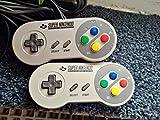 1x Original SNES Super Nintendo Controller, Joypad / Gamepad / Control-Pad / Controlpad (gebraucht, funktioniert, aber in optischem B-Zustand) -
