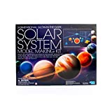 three-dimensional solar system mobile kit