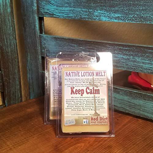 Buy Bargain Keep Calm Natural Lotion Melt