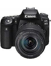 Canon EOS 90D - Cámara Réflex de 32.5 MP (Sensor APS-C, 45 Puntos AF, Disparos de 10fps, EOS Movie 4k+Full HD, Wi-fi, Bluetooth) Negro - Kit Cuerpo con Objetivo EF-S 18-135mm f/3.5-5.6 IS USM