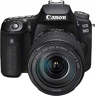 Canon EOS 90D Appareil Photo Reflex 32.5MP (capteur APS-C, 45 Points AF, Prises de Vue de 10fps, EOS Movie 4k+Full HD, Wi-FI, Bluetooth) Noir - Kit Corps avec Objectif EF-S 18-135mm f/3.5-5.6 is USM (B07X3X1Y2L)   Amazon price tracker / tracking, Amazon price history charts, Amazon price watches, Amazon price drop alerts