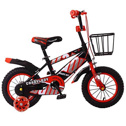 MUYU Kids Bike voor 3-10 Jaar Oud 12(14,16,18) inch Eenvoudige montage Kids Fiets met Training Wielen