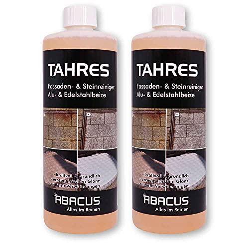 ABACUS 2x 1 L TAHRES - Fassadenreiniger Steinreiniger (7691.2)