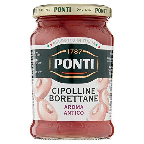 Ponti Cipolline in Aceto Aroma Antico, 300g